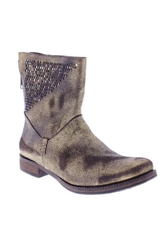 khrio chaussures femme de couleur jaune