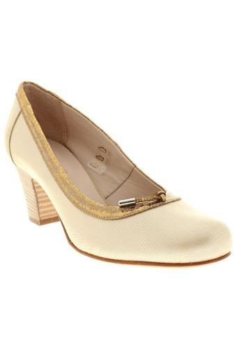 peperosa escarpins femme de couleur beige