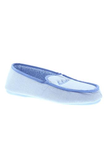 arthur pantoufle garcon de couleur bleu