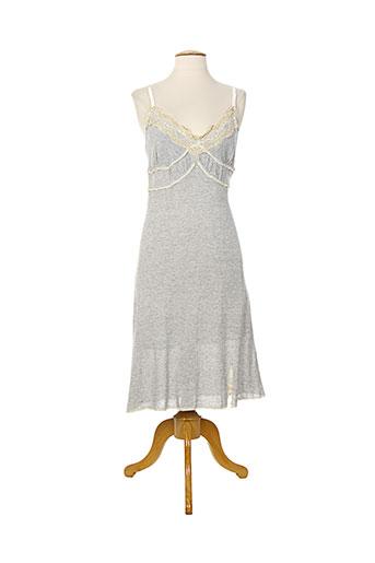elisa cavaletti robes femme de couleur gris