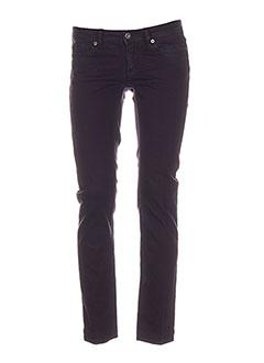 Jeans coupe slim violet DOLCE & GABBANA pour femme