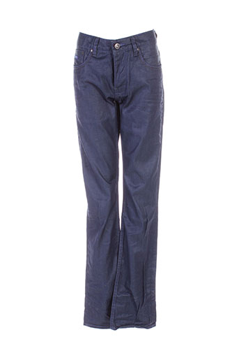 kaporal jeans homme de couleur bleu