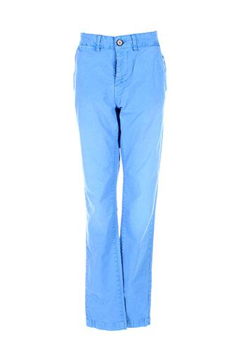 pepe jeans pantalons homme de couleur bleu