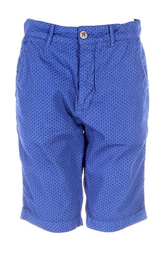pepe jeans shorts / bermudas homme de couleur bleu