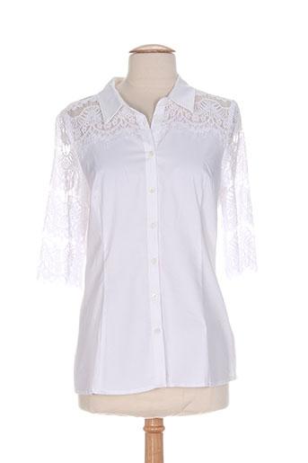 diega chemises femme de couleur blanc