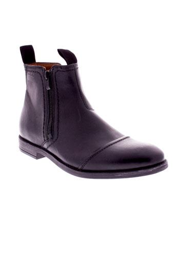 clarks boots homme de couleur noir