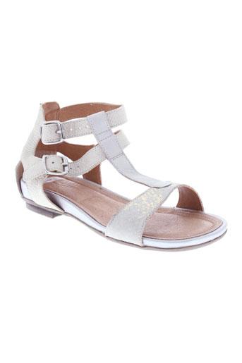 karston sandales et nu et pieds femme de couleur beige