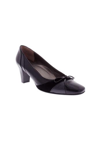 vitulli et moda escarpins femme de couleur noir