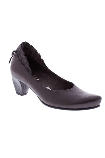 karston escarpins femme de couleur gris