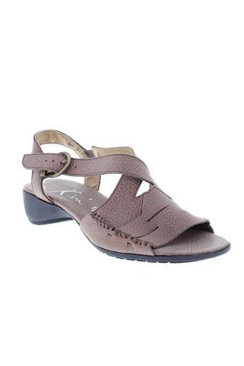 kim chaussures femme de couleur marron