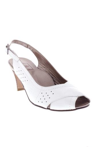 hasley sandales et nu et pieds femme de couleur blanc