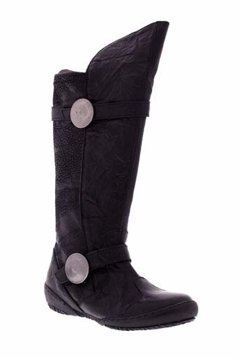 oxford chaussures femme de couleur noir