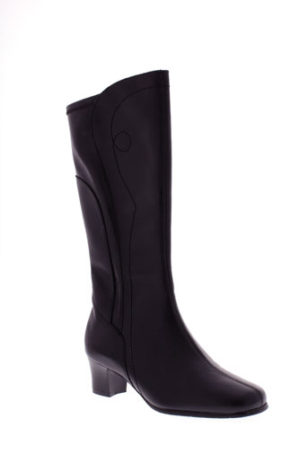 ombelle bottes femme de couleur noir