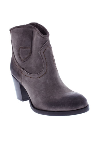 coco et et et abricot boots femme de couleur marron