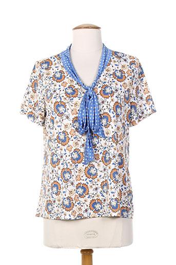 purple jam chemises femme de couleur bleu