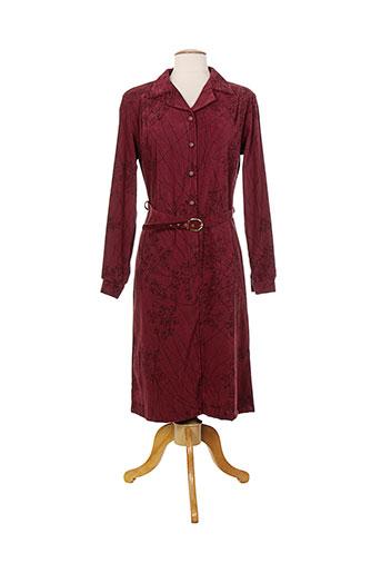 20/20 robes femme de couleur rouge