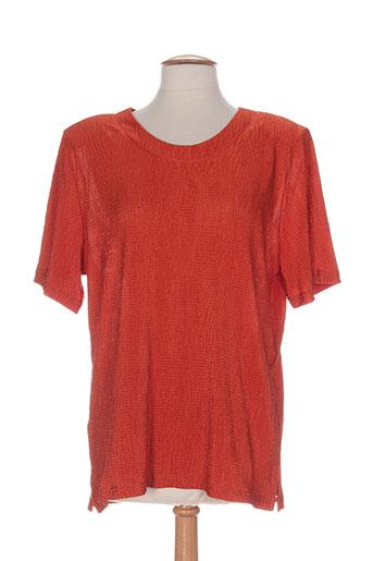 20 et 20 tuniques femme de couleur orange (photo)