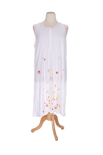 bisbigli chemises et de et nuit femme de couleur blanc