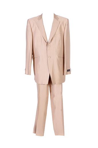 modexal costumes homme de couleur beige