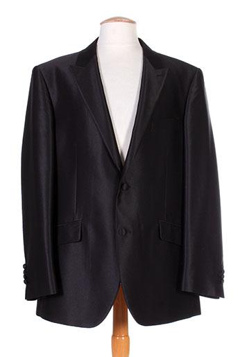 Veste chic / Blazer noir CAMILLIANO pour homme
