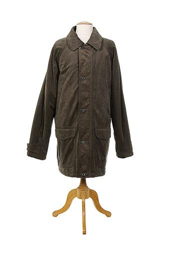 clifter manteaux homme de couleur gris