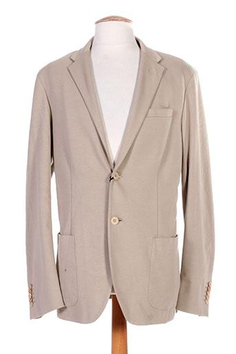 Veste casual beige TREND pour homme