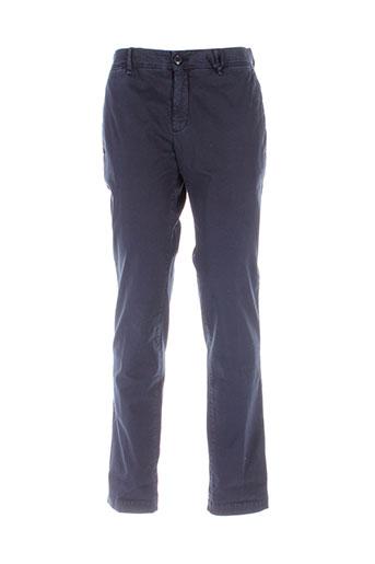 moncler pantalons et decontractes homme de couleur bleu