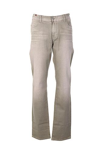 notify pantalons homme de couleur beige