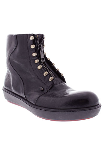 tom et rebl boots homme de couleur noir