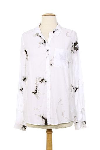 tom tailor chemises femme de couleur blanc