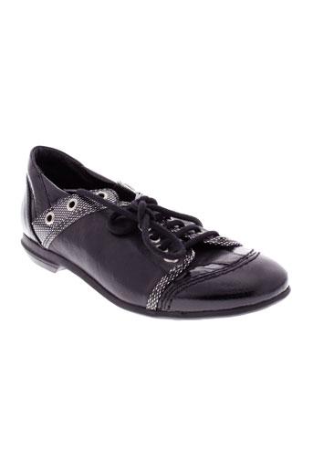 arcus chaussures femme de couleur noir