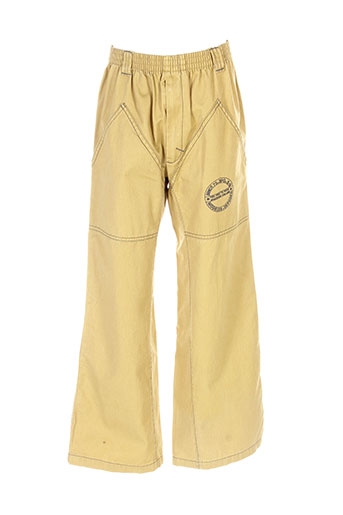 3 et pommes pantalons et decontractes garcon de couleur beige