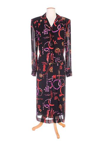 jean biolay robes femme de couleur noir