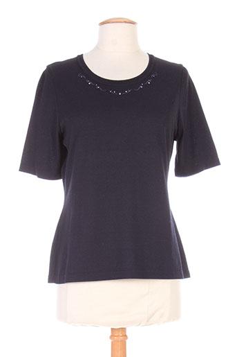 erica rossler t-shirts femme de couleur noir