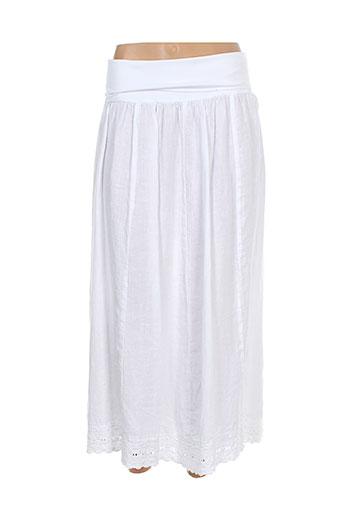 arthurio et lino jupes et longues femme de couleur blanc