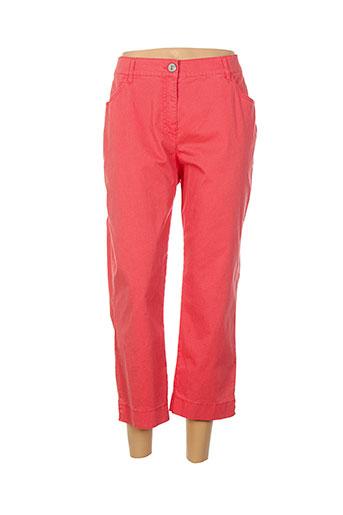 gerke my pants pantacourts femme de couleur rouge