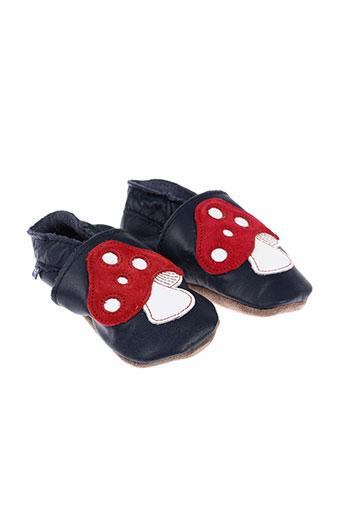 inch blue chaussures garçon de couleur bleu