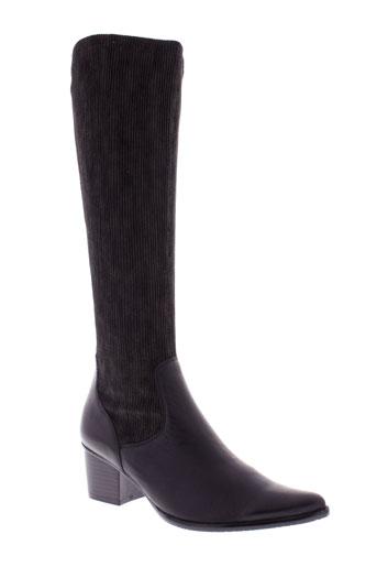 madison bottes femme de couleur noir