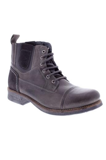 arid et by et arima boots homme de couleur gris