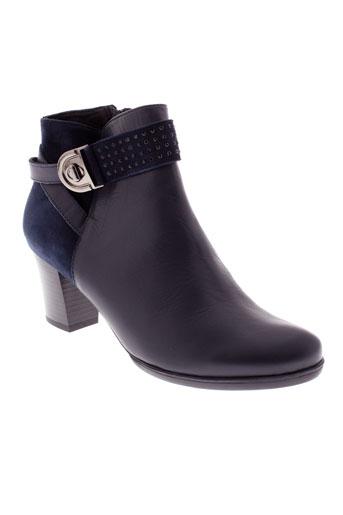 j et metayer boots femme de couleur bleu