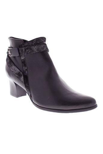 j et metayer boots femme de couleur noir
