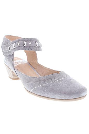 sweet chaussures femme de couleur gris