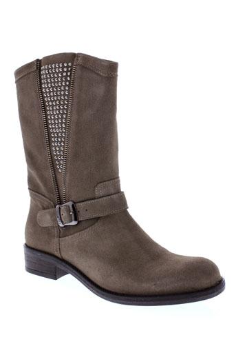 twin-set simona barbieri chaussures femme de couleur marron