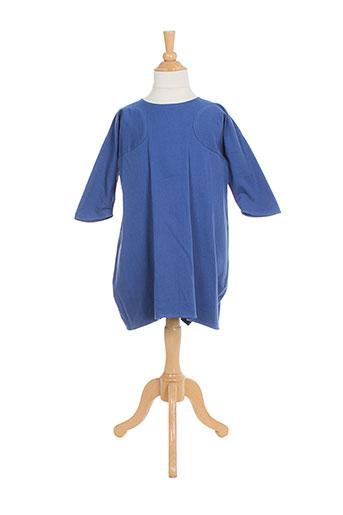 bodebo robes fille de couleur bleu