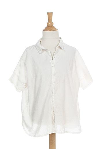 album di famiglia chemises garçon de couleur blanc