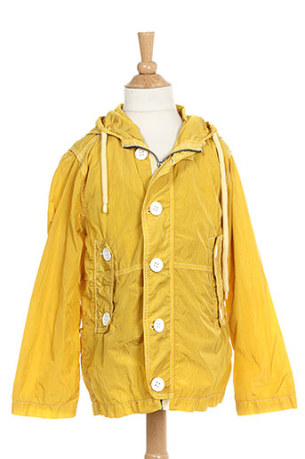morley manteaux enfant de couleur jaune
