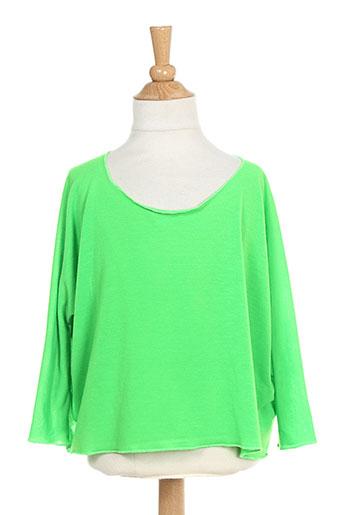 bodebo t-shirts fille de couleur vert