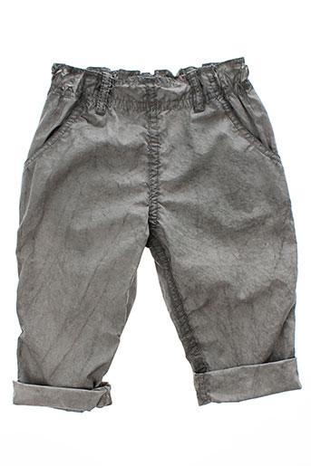 album di famiglia pantalons garçon de couleur gris