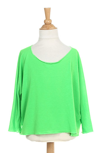 T-shirt manches longues vert BODEBO pour fille