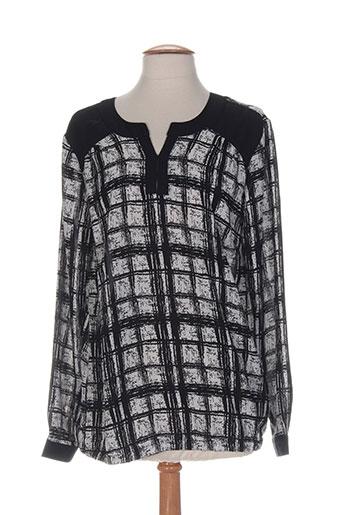 brandtex chemises femme de couleur noir